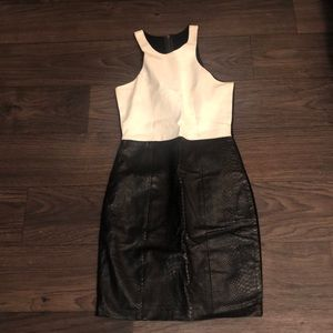 Mason lambskin front tank  (some color transfer)